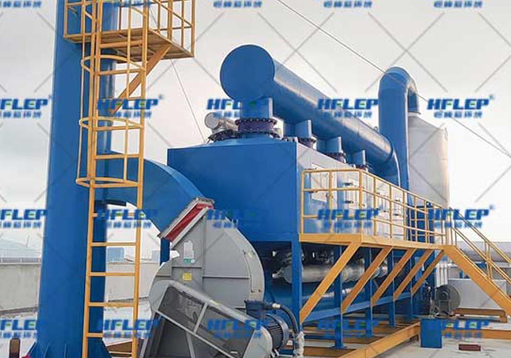 蓄热式催化燃烧设备